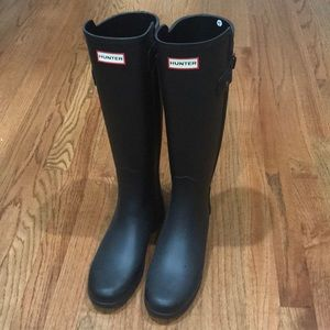 Tall Refined Hunter Rain Boot